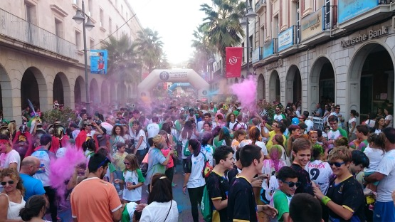 Huelva Music Run Colors 2017