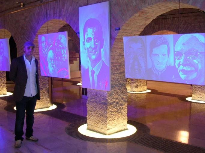 Exposición Marcos Tamargo retratos Premios Príncipe
