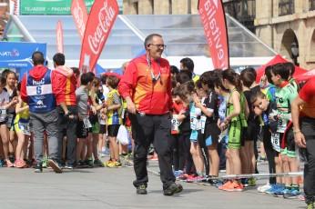 campeonato de España de Duatlón. Avilés 2018 categoría Divertido niños