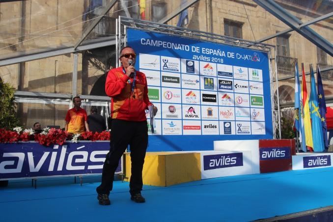 campeonato de España de Duatlón. Avilés 2018 categoría Junior